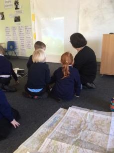 Hayton View primary school, Newton Abbot with Katy Connor