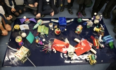 Oldway Primary School with artist Katy Connor
